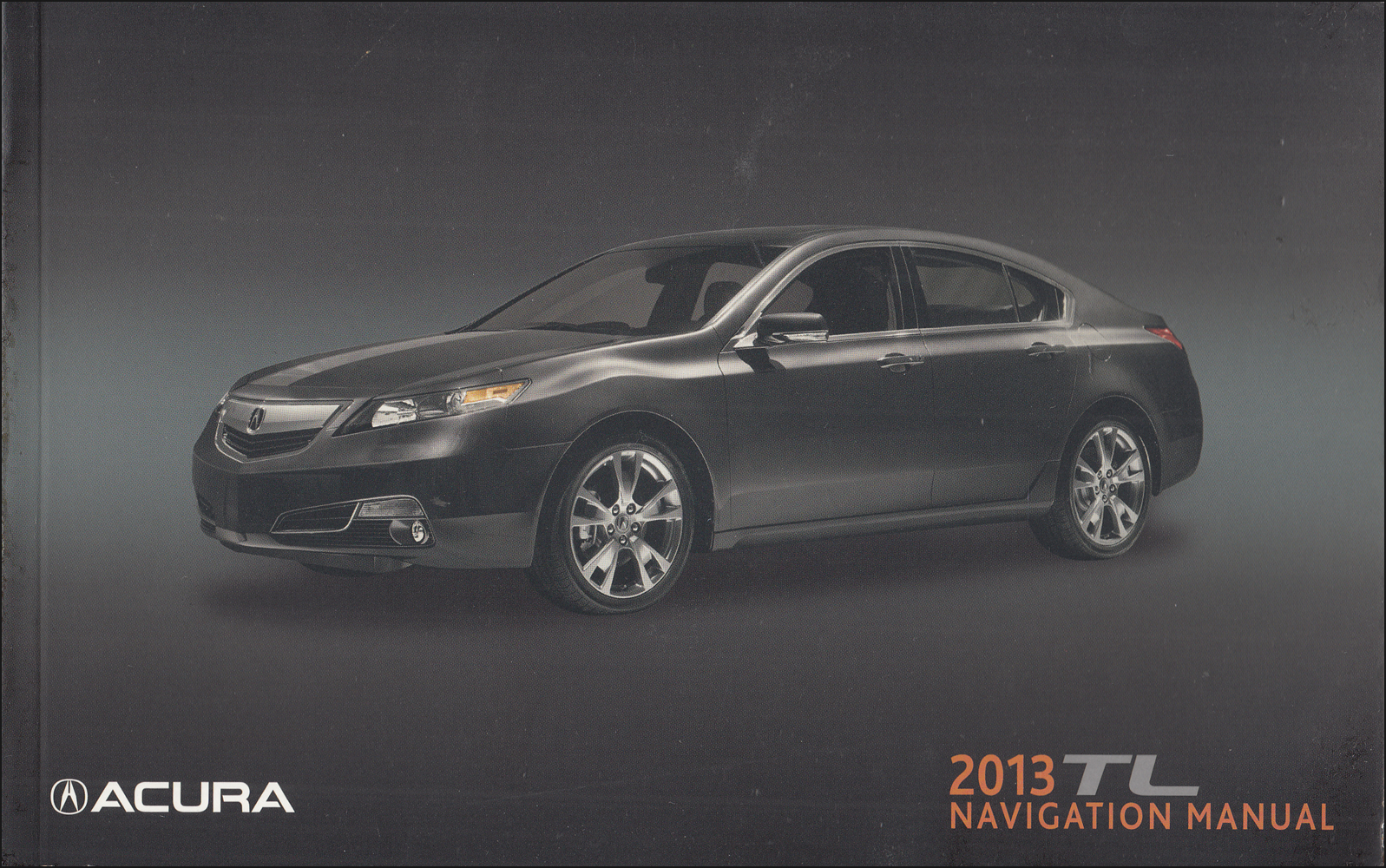 2013 Acura TL Navigation System Owners Manual Original