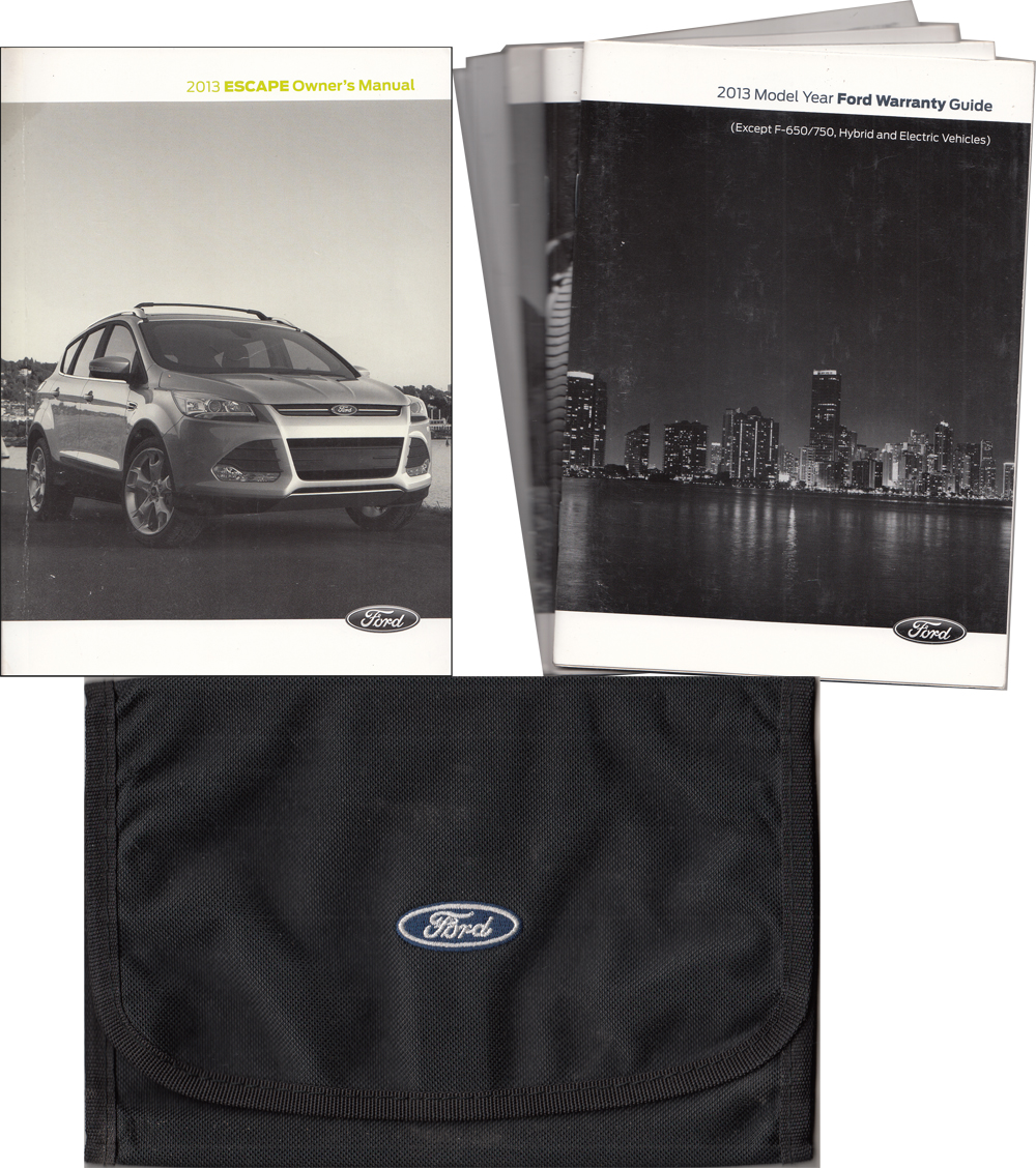 2013 Ford Escape Owner's Manual Original