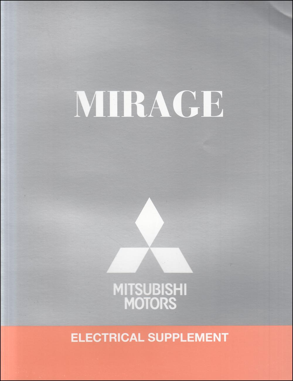 2017 Mitsubishi Mirage Wiring Diagram Manual Original