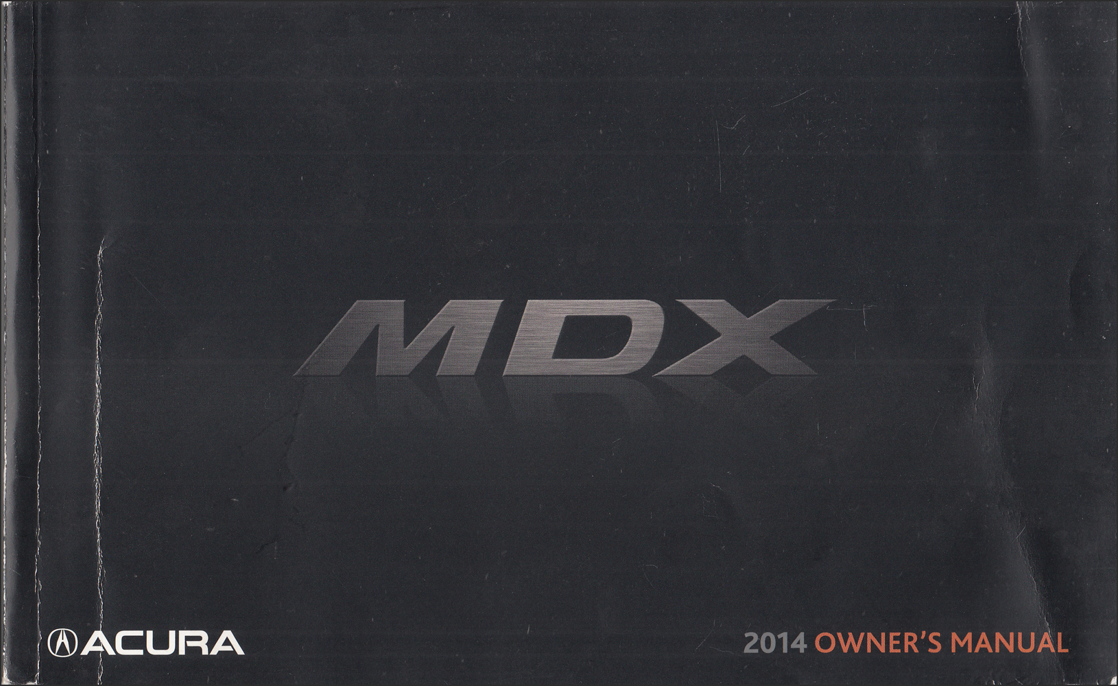 2014 Acura MDX Owner's Manual Original