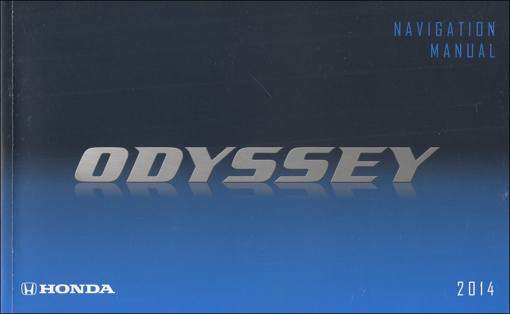 2014 Honda Odyssey Navigation System Owners Manual Original