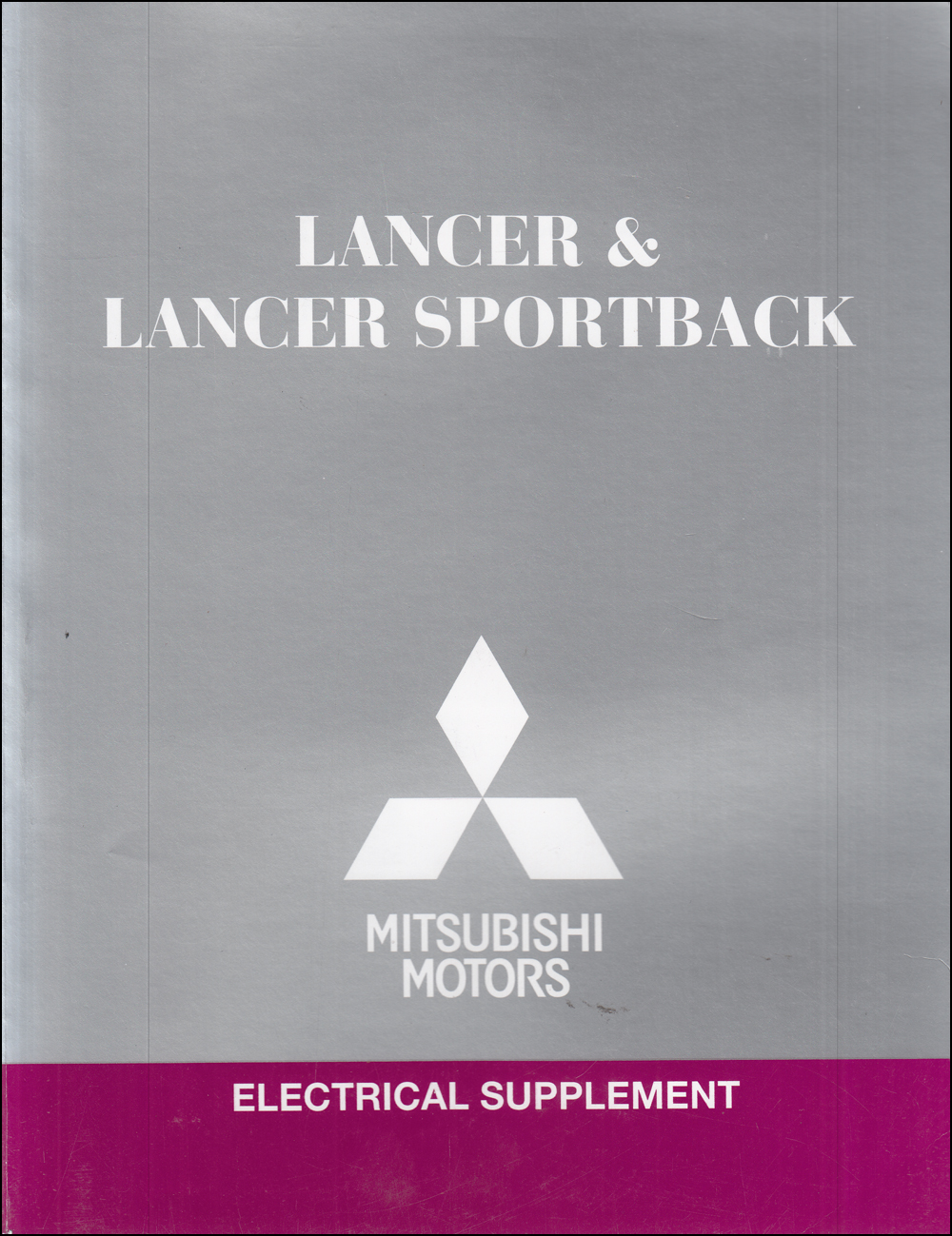 2014 Mitsubishi Lancer & Lancer Sportback Wiring Diagram Manual Original