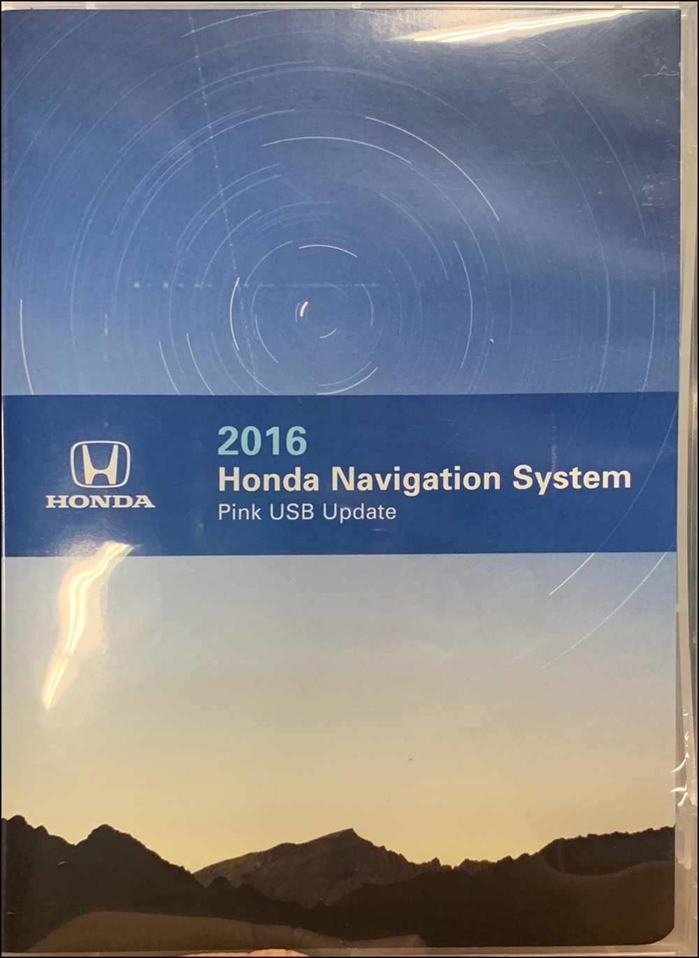 2016 Honda Navigation System USB Update Original