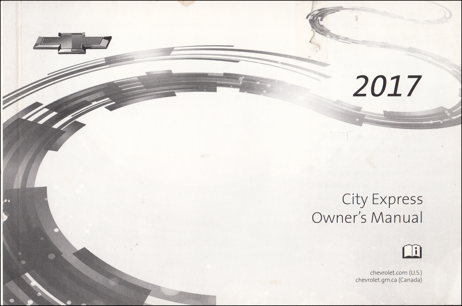 2017 Chevrolet City Express Owner's Manual Original