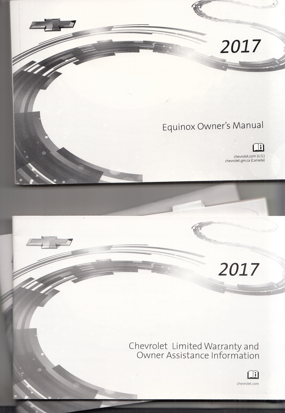 2017 Chevrolet Equinox Owners Manual with Pamphlets Original