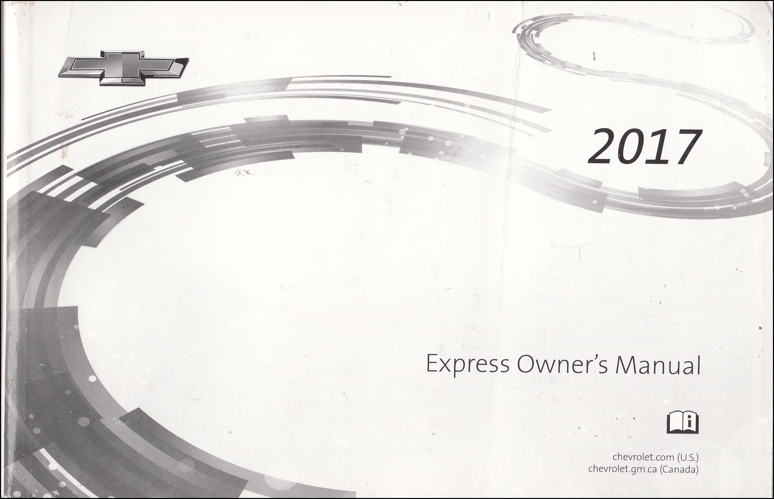 2017 Chevrolet Express Owner's Manual Original