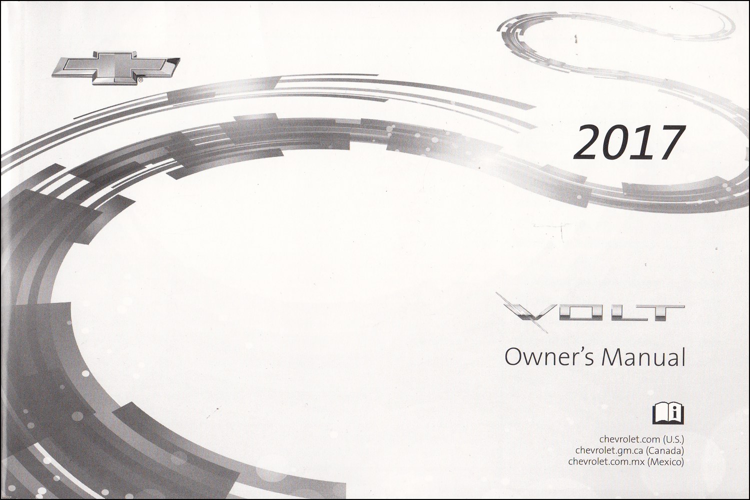 2017 Chevrolet Volt Owner's Manual Original