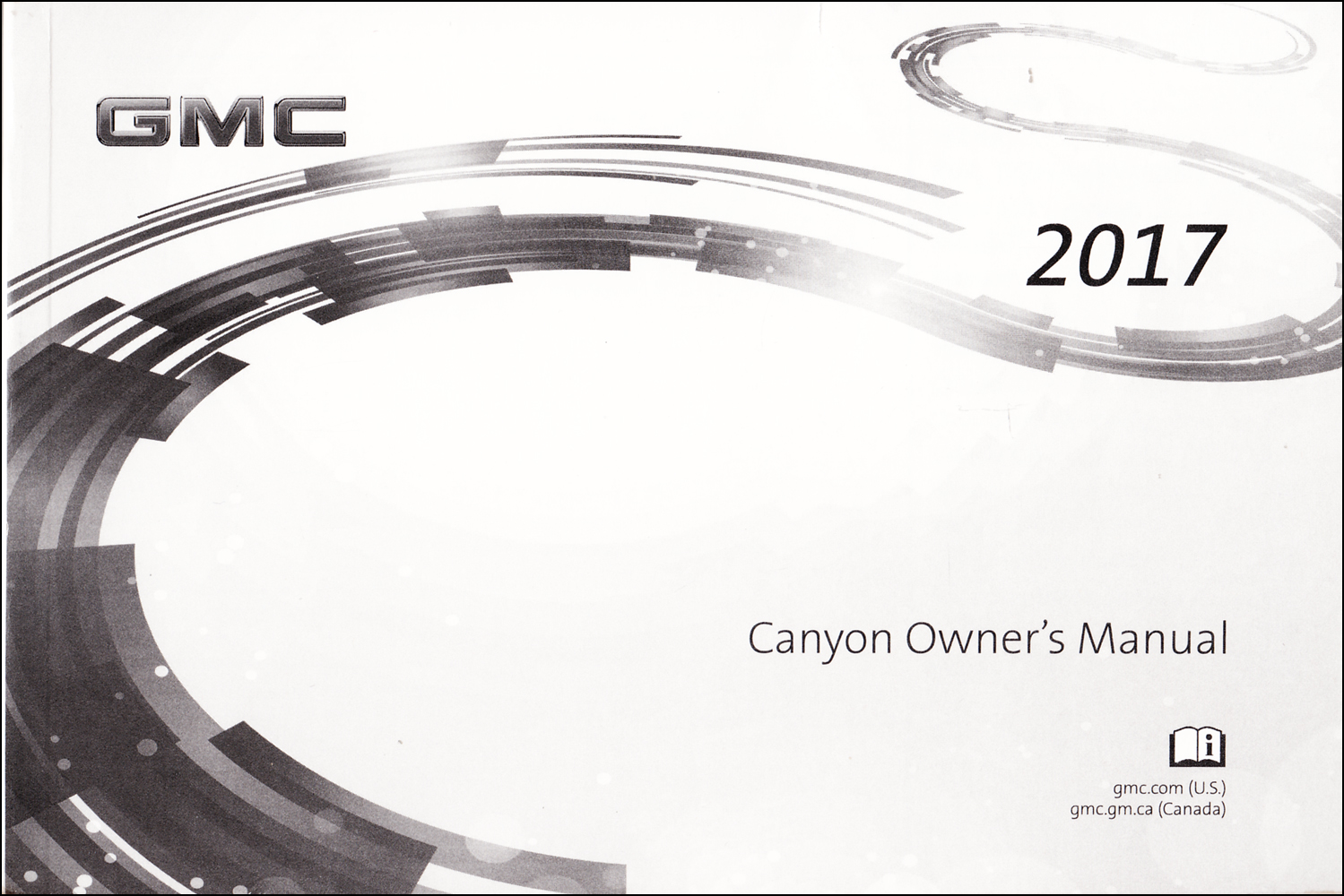 2017 GMC Canyon Owner's Manual Original