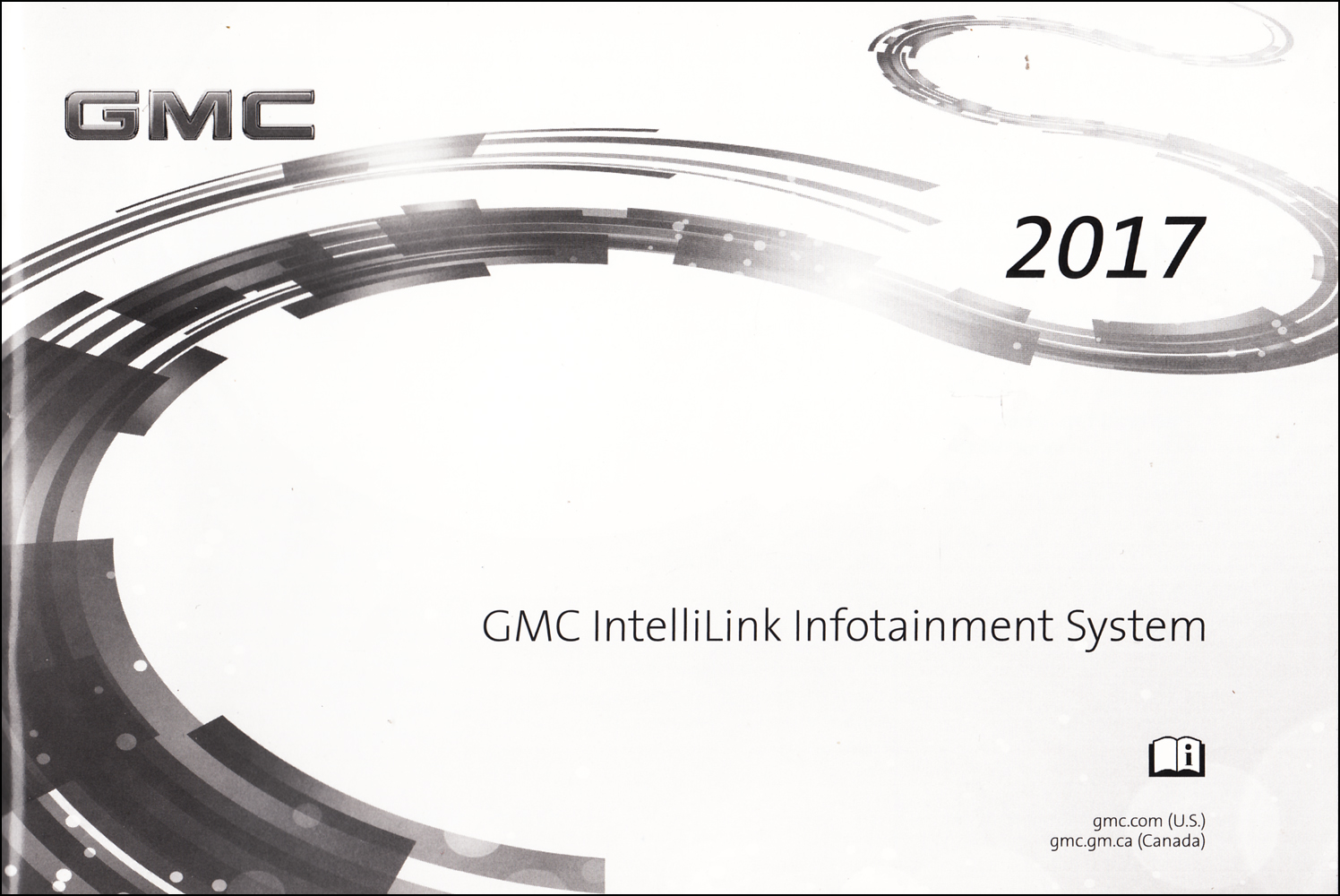 2017 GMC IntelliLink Infotainment System Owner's Manual Original Navigation