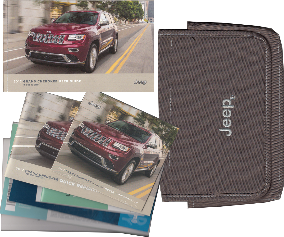 2017 Jeep Grand Cherokee User Guide Owner's Manual Package With Case Original