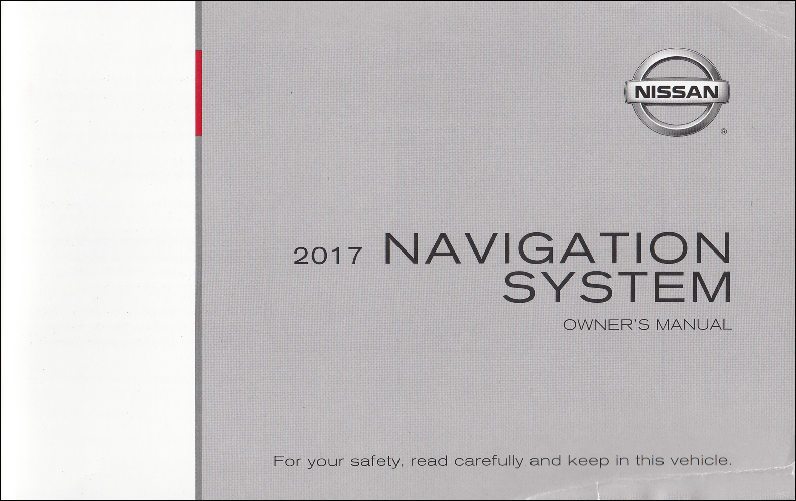 2017 Nissan Navigation System Owners Manual Original Rogue, Rogue Sport, Altima, Titan
