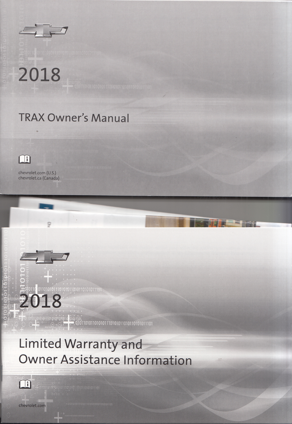 2018 Chevrolet Trax Owners Manual with Pamphlets Original