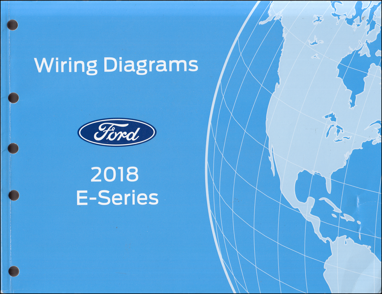 2018 Ford Econoline Wiring Diagram Manual Original Van E-350 E-450