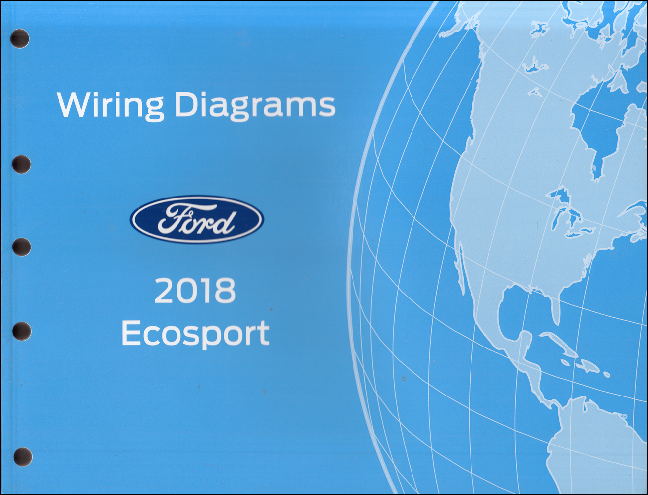 2018 Ford Ecosport Wiring Diagram Manual Original