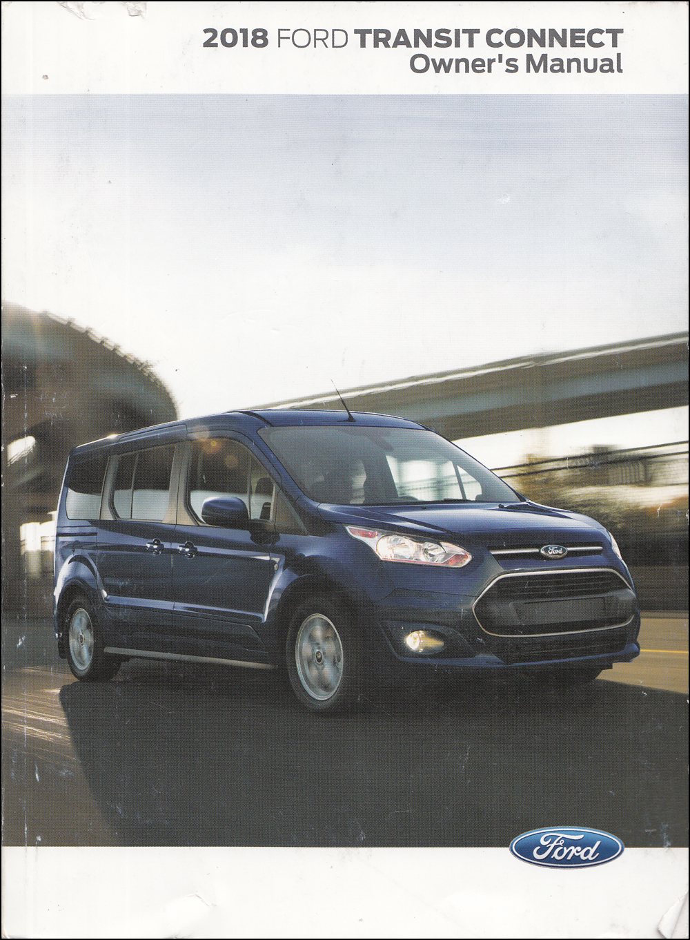 2018 Ford Transit Connect Owner's Manual Original
