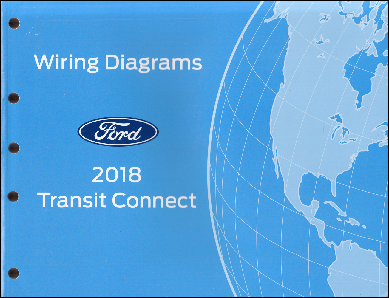 2018 Ford Transit Connect Wiring Diagram Manual Original