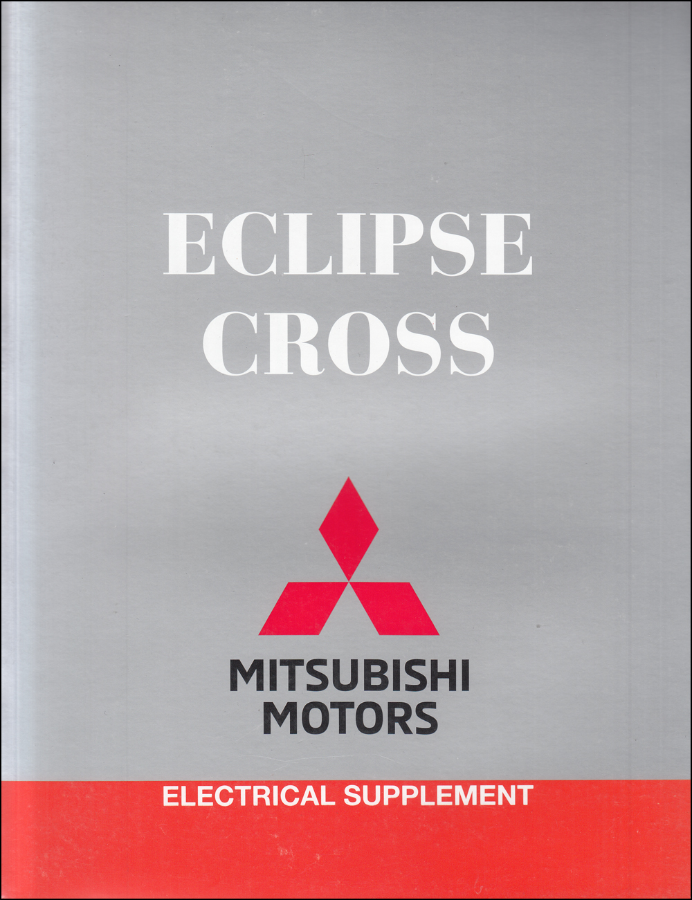2018 Mitsubishi Eclipse Cross Wiring Diagram Manual Original