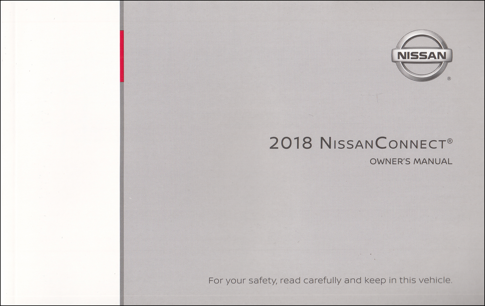 2018 Nissan Connect Navigation System Owners Manual Original Maxima, Altima, Murano