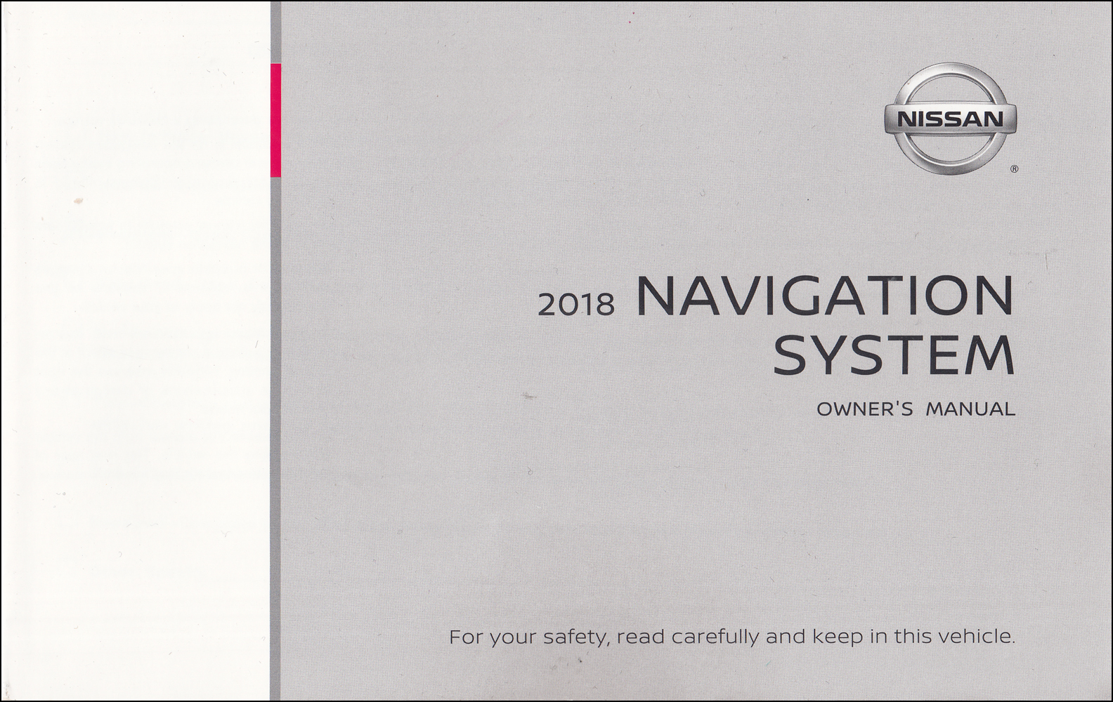 2018 Nissan LC2K Navigation System Owners Manual - Rogue Sport