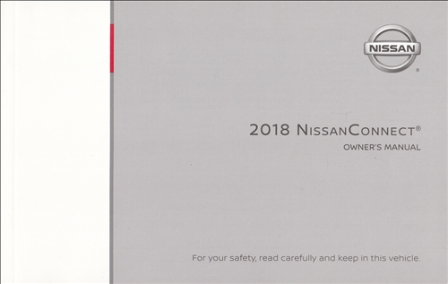 2018 Nissan Rogue Connect Navigation System Owners Manual Original