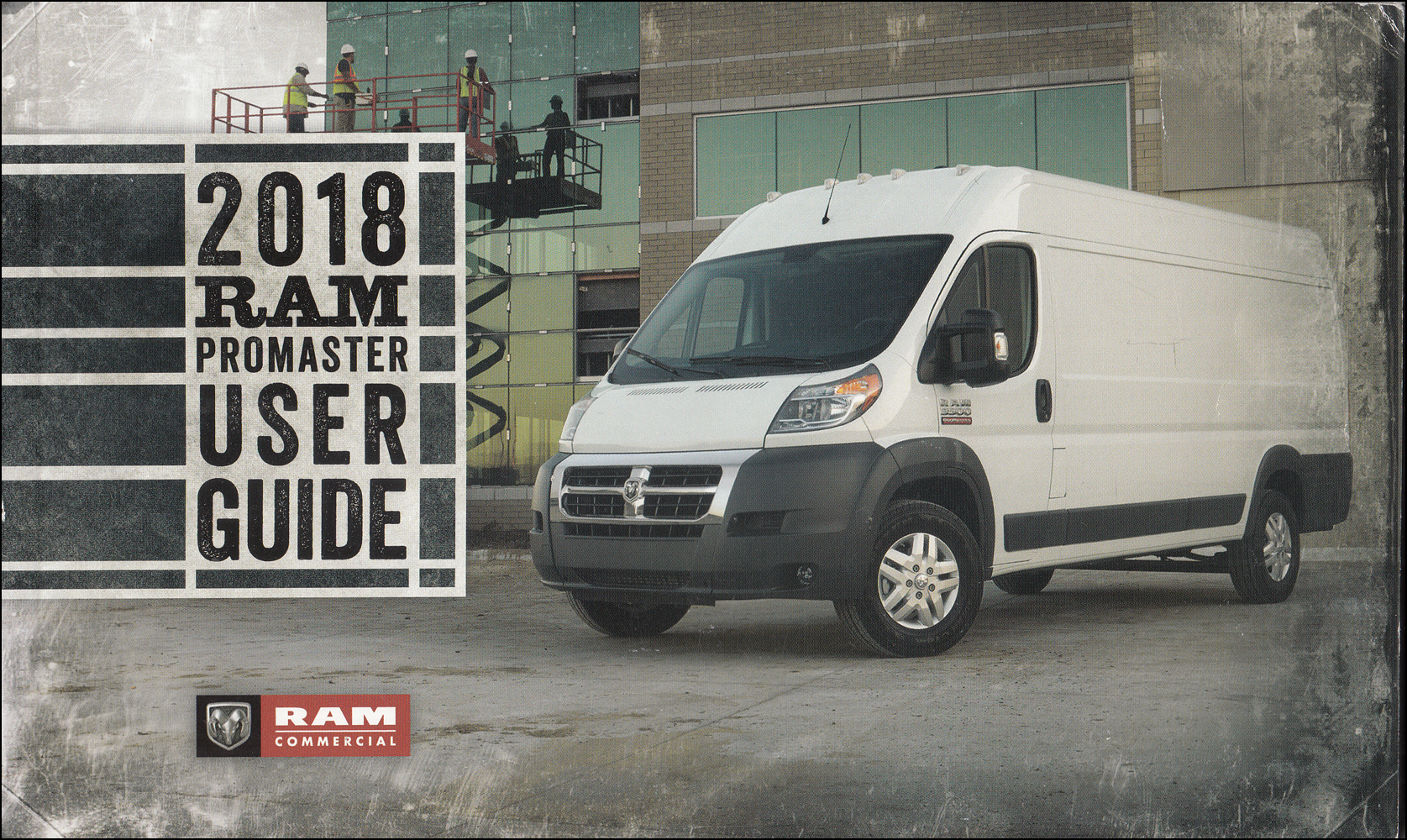 2018 Ram Promaster User Guide Owner's Manual Original