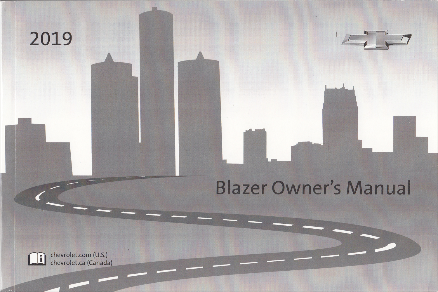 2019 Chevrolet Blazer Owner's Manual Original