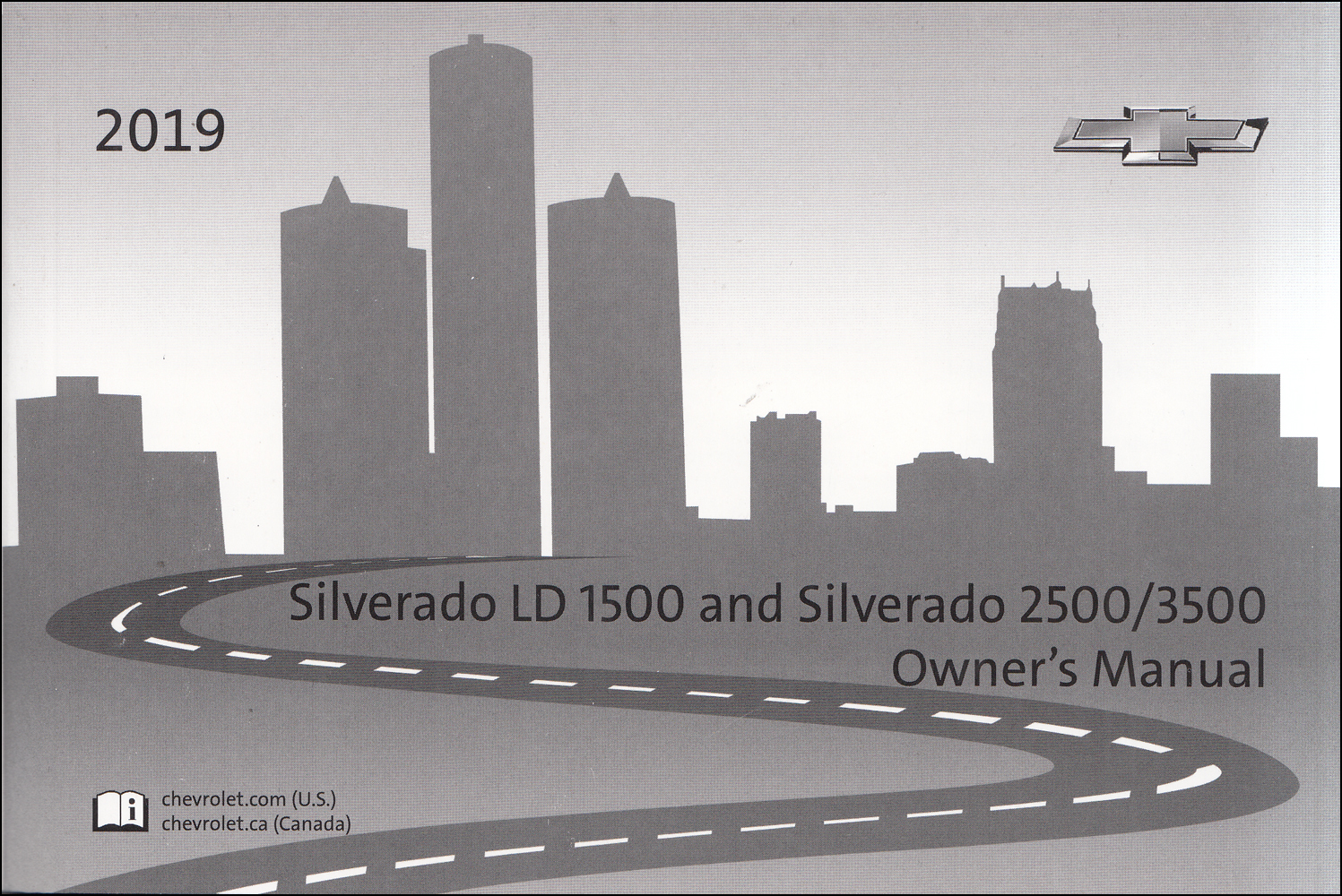 2019 Chevrolet Silverado 1500 LD and Silverado 2500/3500 Owner's Manual Original