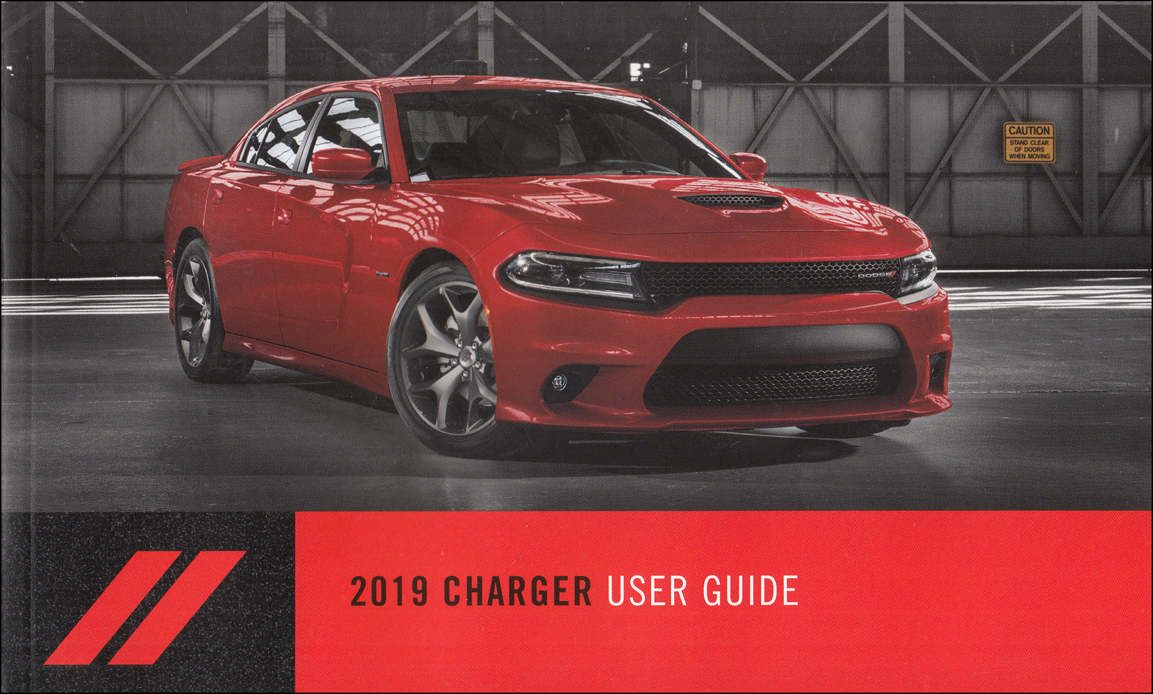 2019 Dodge Charger User Guide Owner's Manual Original