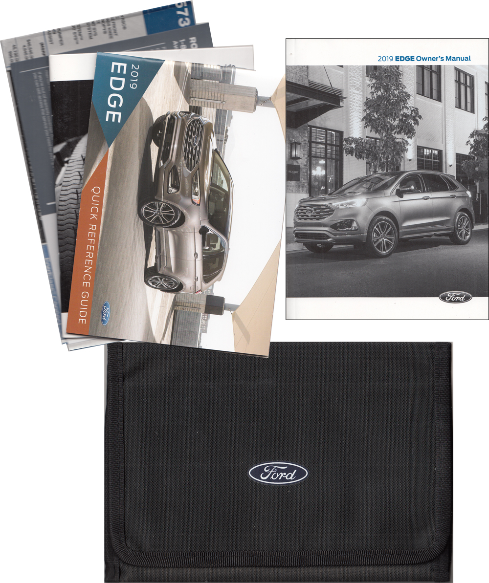 2019 Ford Edge Owner's Manual Package with Case Original
