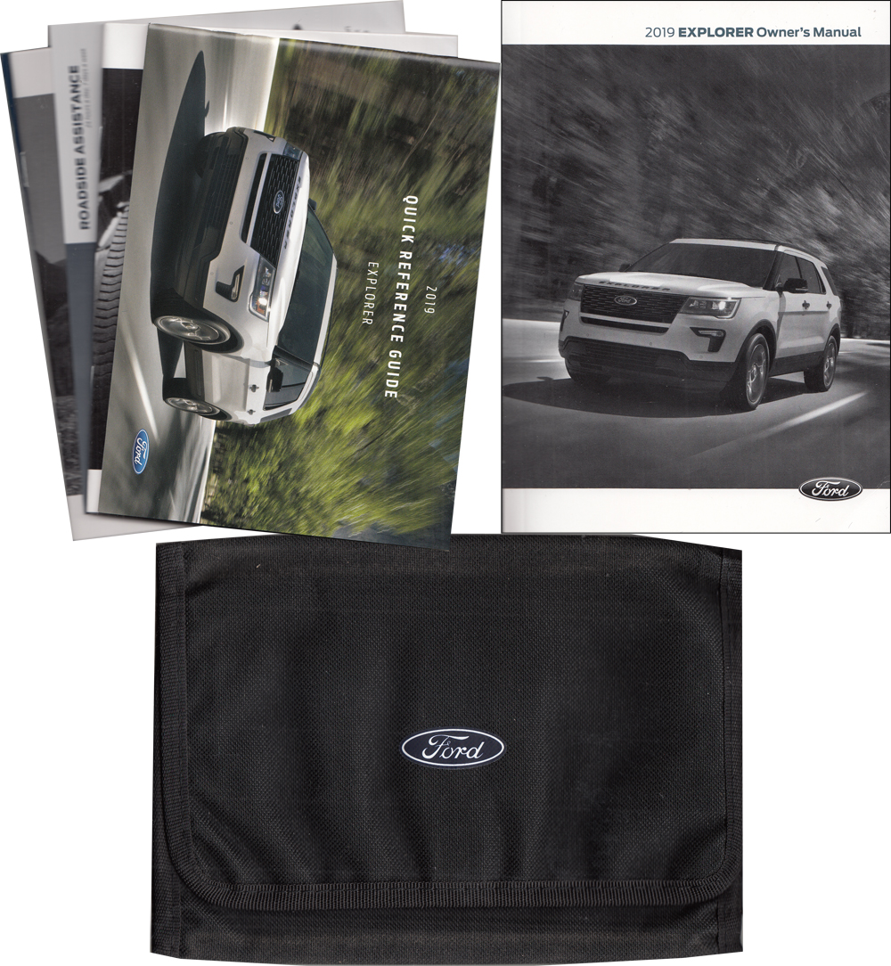 2019 Ford Explorer Owner's Manual Package with Case Original