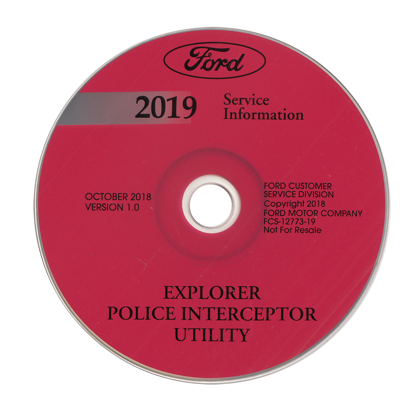 2019 Ford Explorer Repair Shop Manual on CD-ROM Original