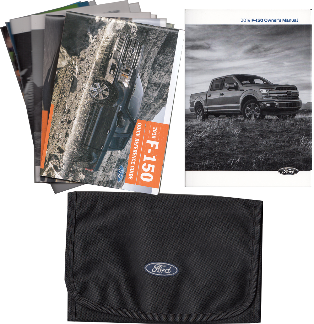 2019 Ford F-150 Pickup Truck Owner's Manual Package with Case Original