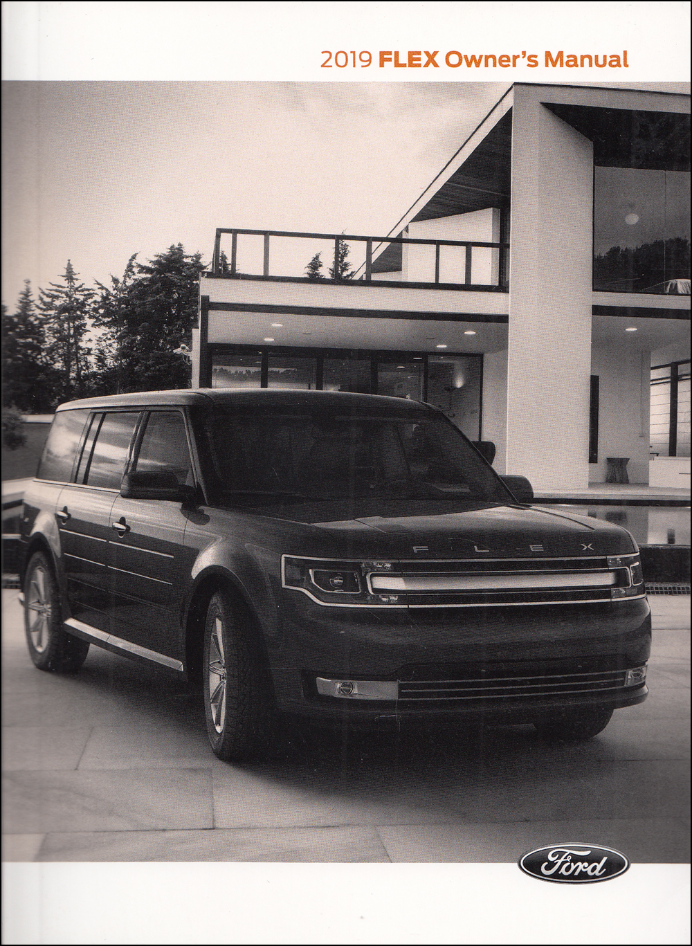 2019 Ford Flex Owner's Manual Original