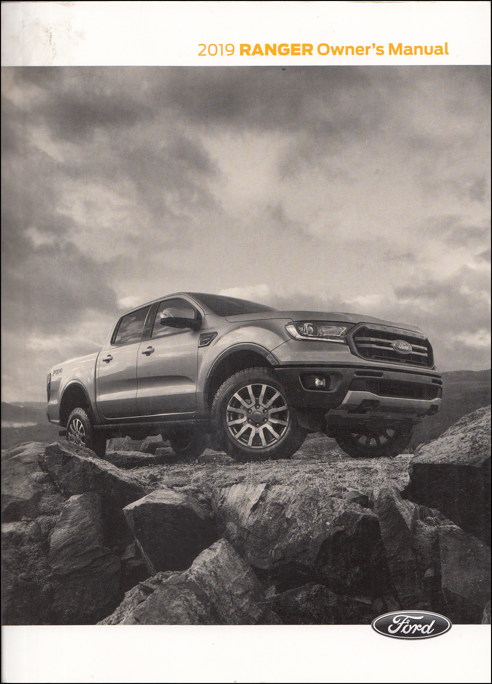 2019 Ford Ranger Owner's Manual Original