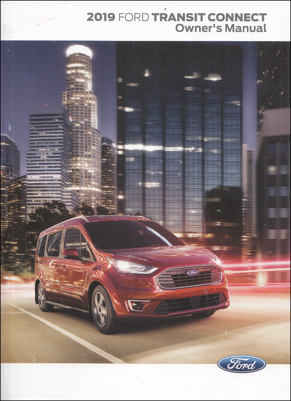 2019 Ford Transit Connect Owner's Manual Original