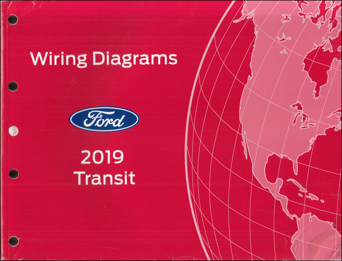 2019 Ford Transit Wiring Diagram Manual Original