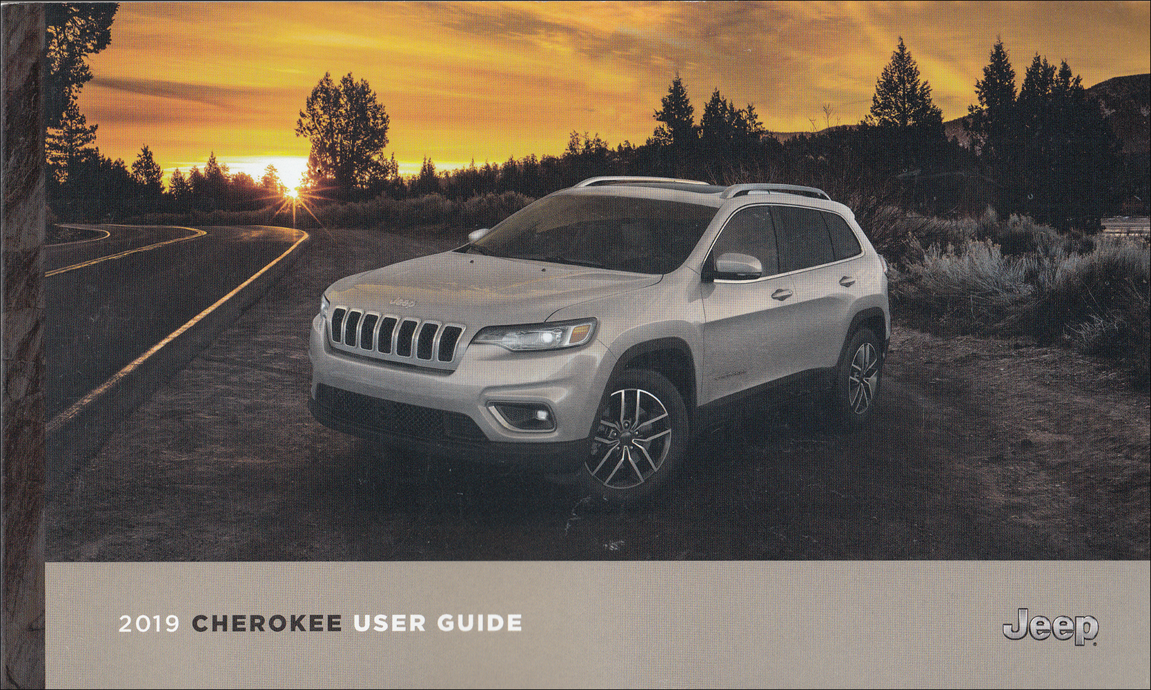 2019 Jeep Cherokee Owner's Manual Original