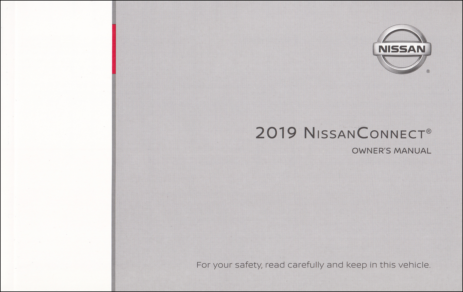 2019 Nissan Connect Navigation System Owners Manual Original Kicks, Maxima, Murano, Qashqai, Rogue Sport