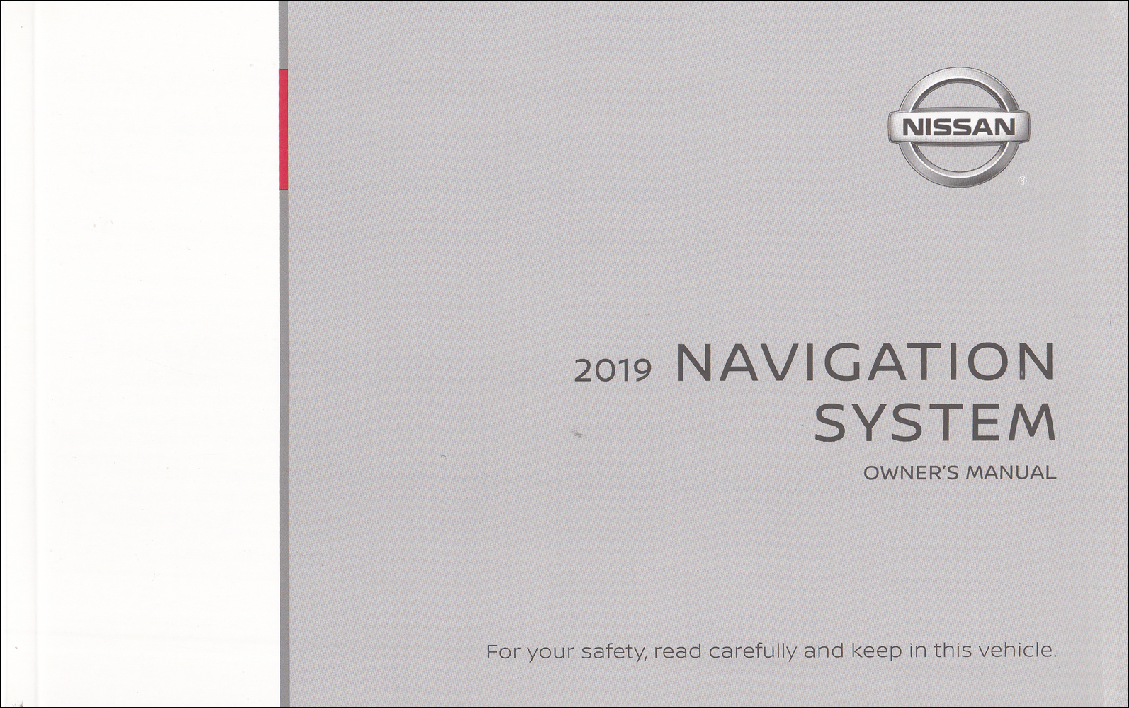 2019 Nissan Navigation System Owners Manual Original Frontier Pickup and NV Van