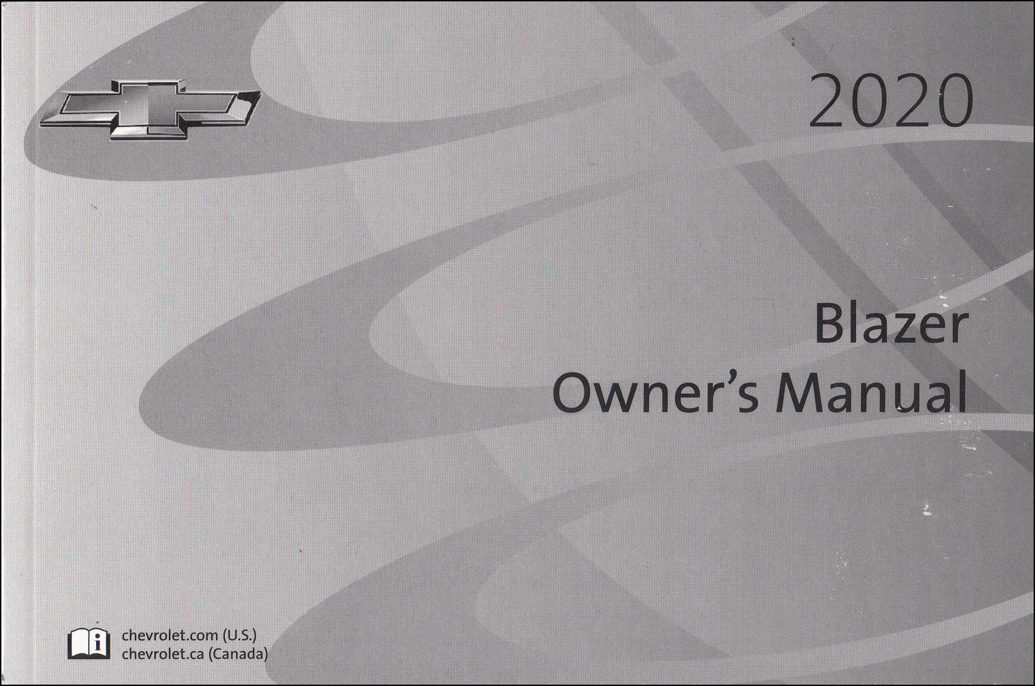 2020 Chevrolet Blazer Owner's Manual Original