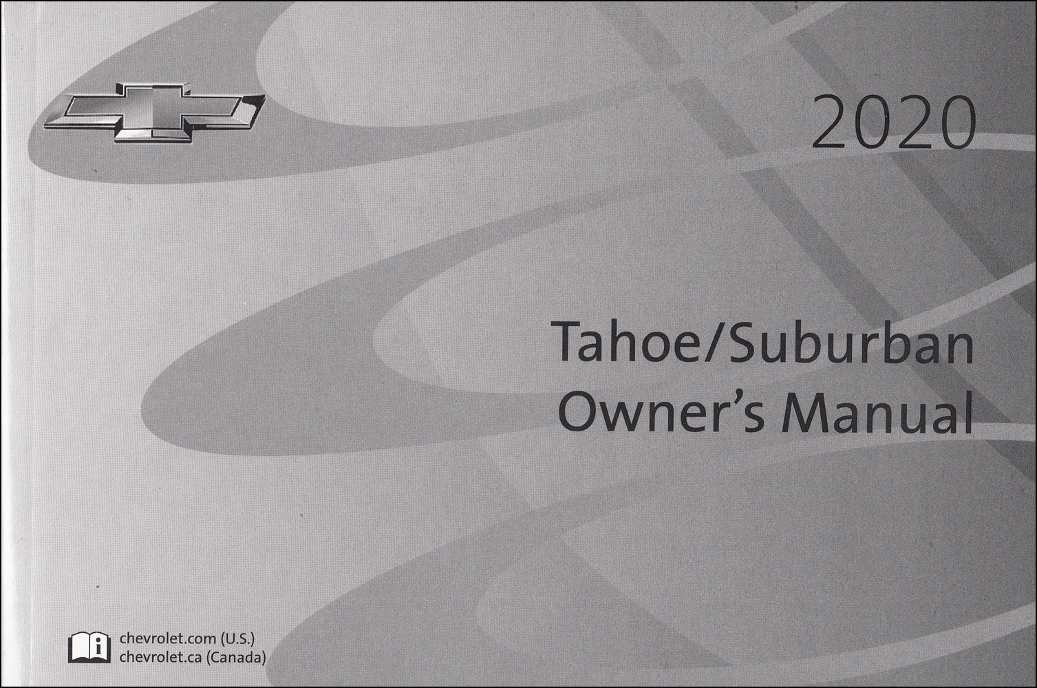 2020 Chevrolet Tahoe and Suburban Owner's Manual Original