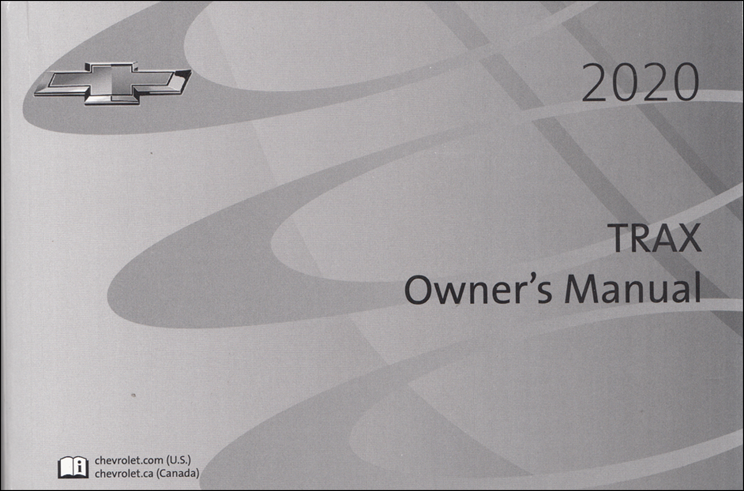2020 Chevrolet Trax Owner's Manual Original