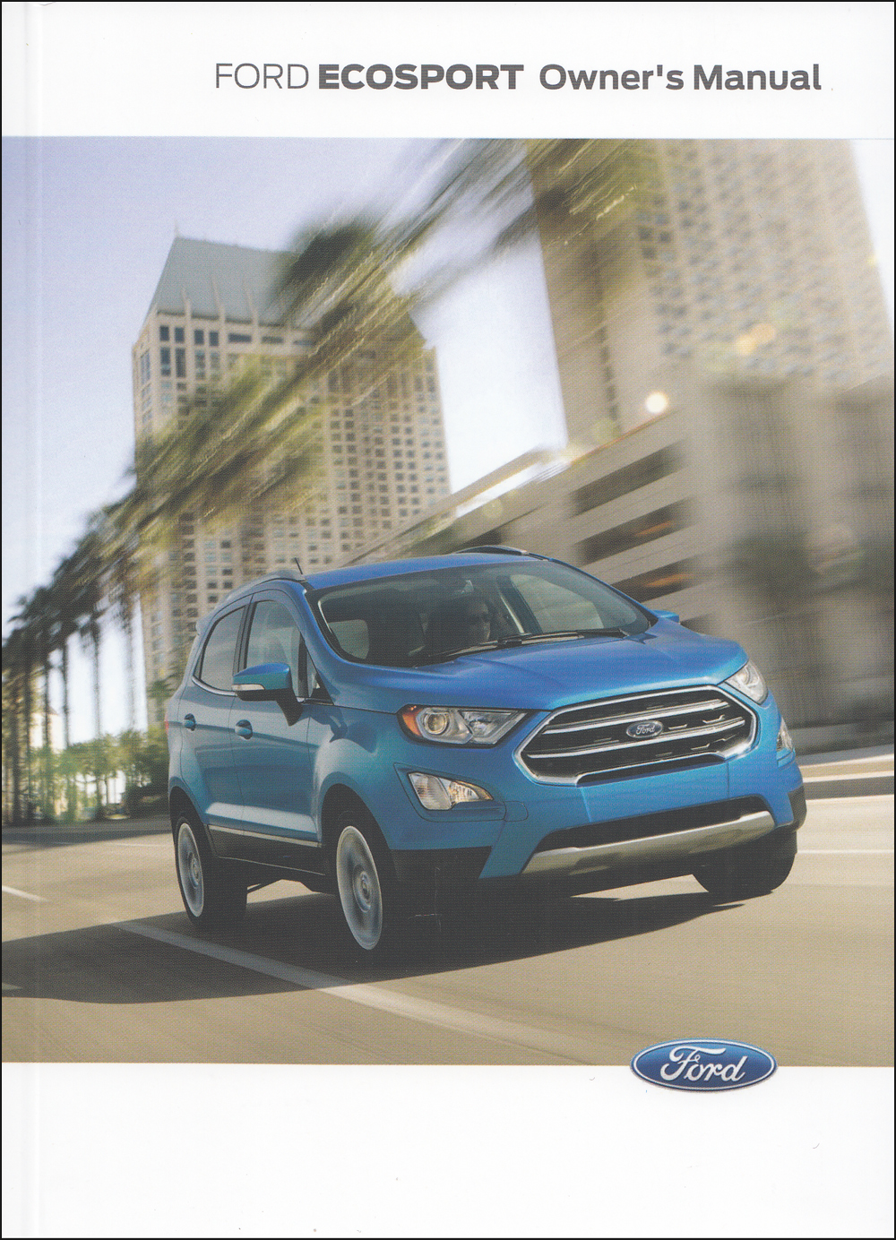 2020 Ford EcoSport Owner's Manual Original