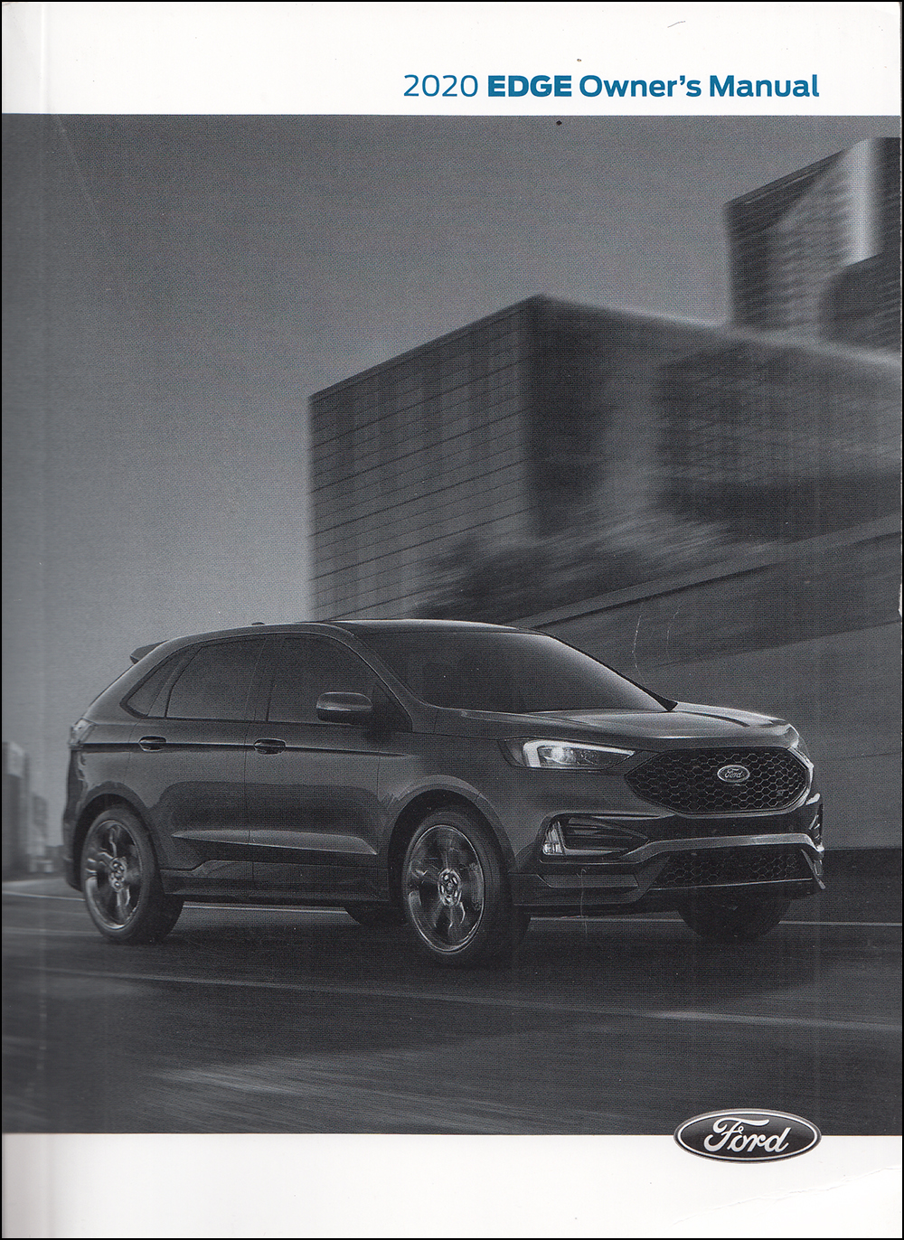 2020 Ford Edge Owner's Manual Original