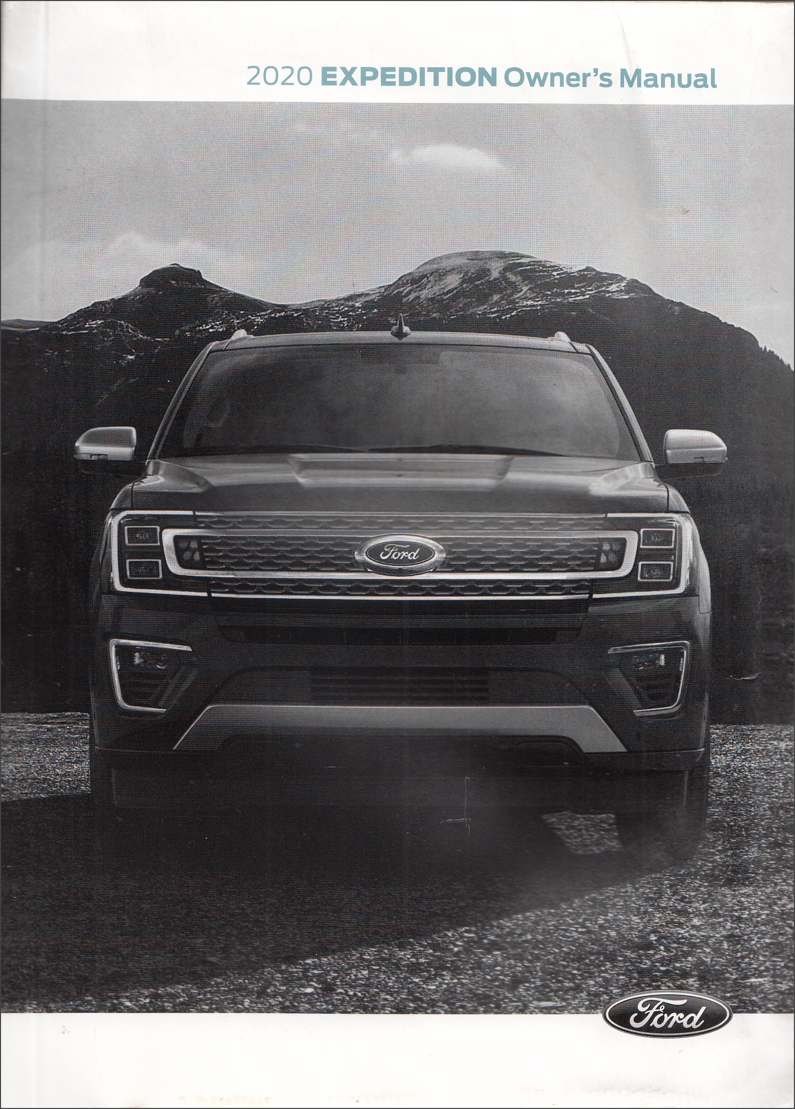 2020 Ford Expedition Owner's Manual Original