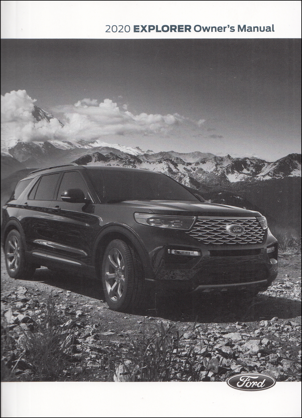 2020 Ford Explorer Owner's Manual Original