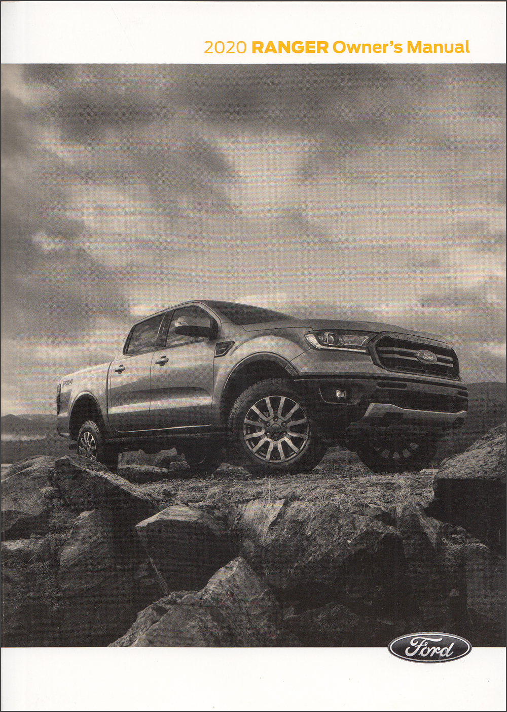 2020 Ford Ranger Owner's Manual Original