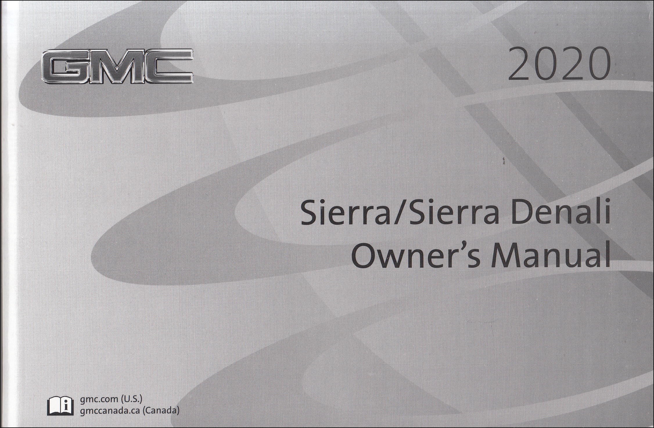 2020 GMC Sierra Owner's Manual Original