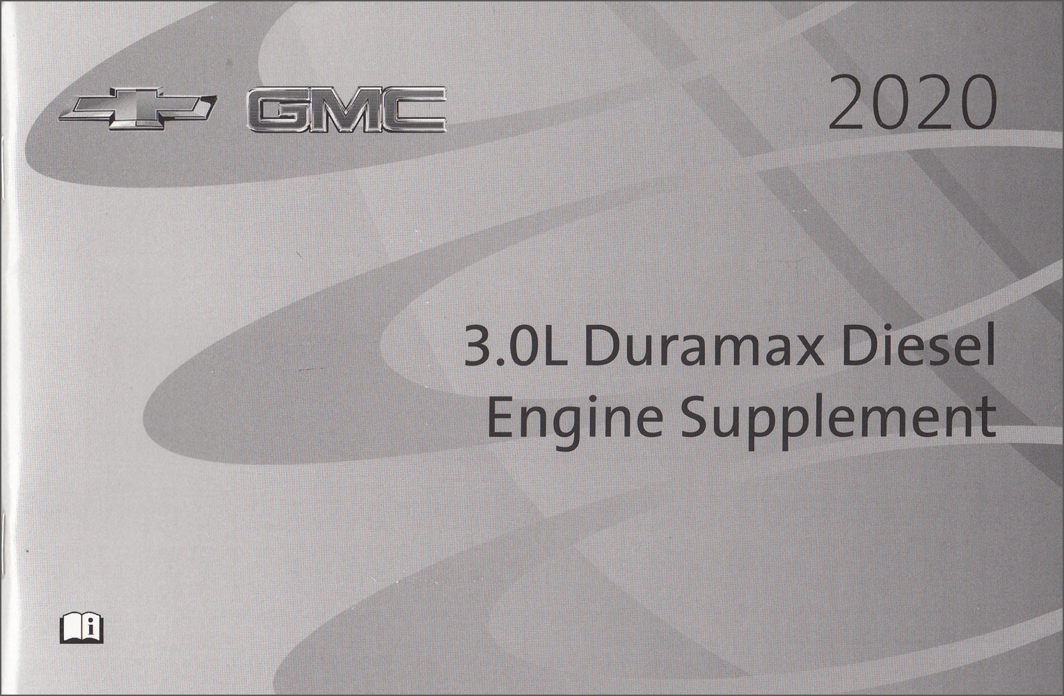 2004 Chevrolet GMC Duramax Diesel Owners Manual Supplement Original