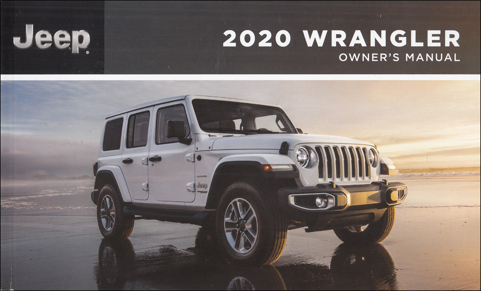 2020 Jeep Wrangler Owner's Manual Original Extended 482-page version